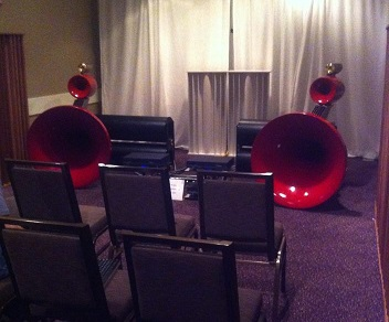 Sadurni Acoustics Staccato Horns image from their website