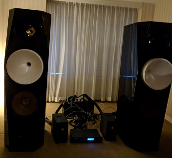 Laufer Teknik / Orinda Acoustics big speakers